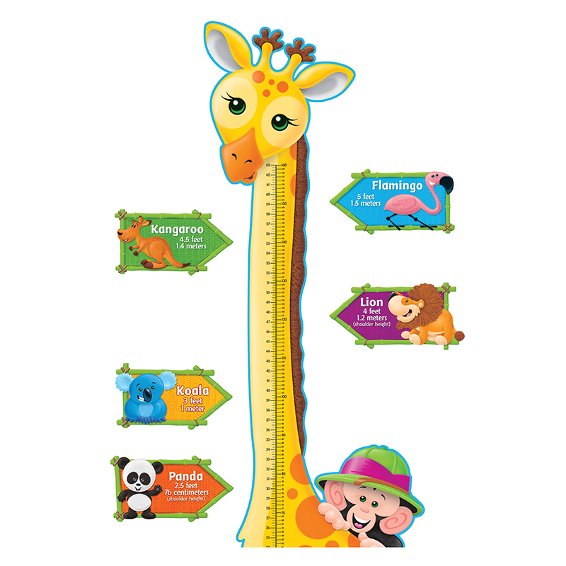 Bb Set Giraffe Growth Chart