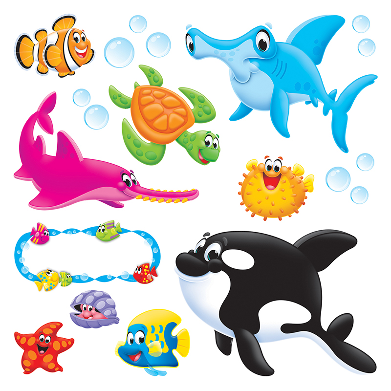 Sea Buddies Bulletin Board Set