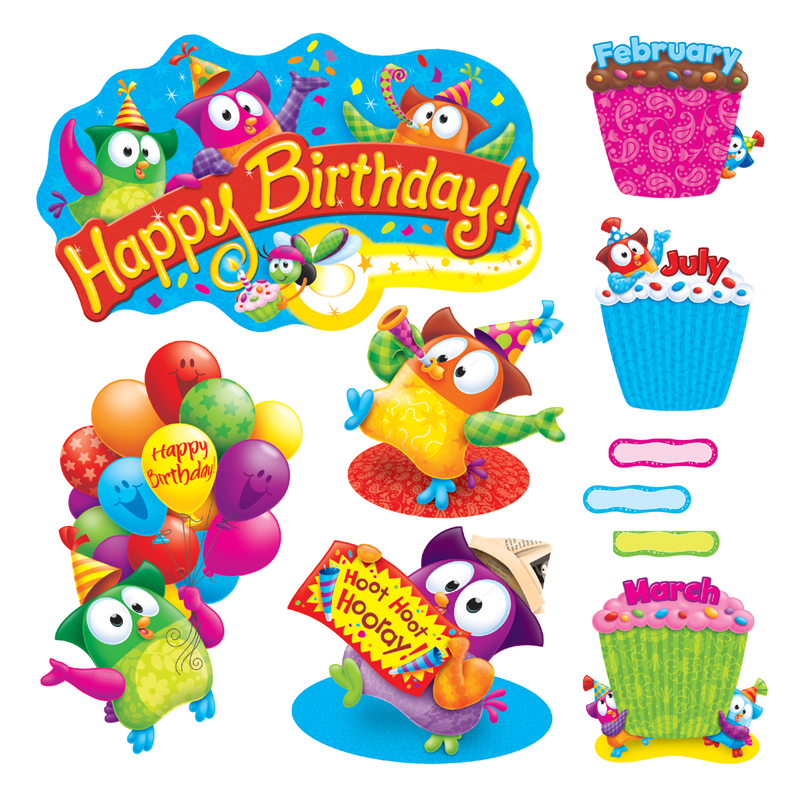 Owl Stars Birthday Bb Set