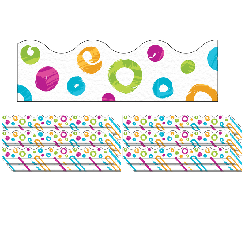 (6 Pk) Swirl Dots Terrific Trimmrscolor Harmony