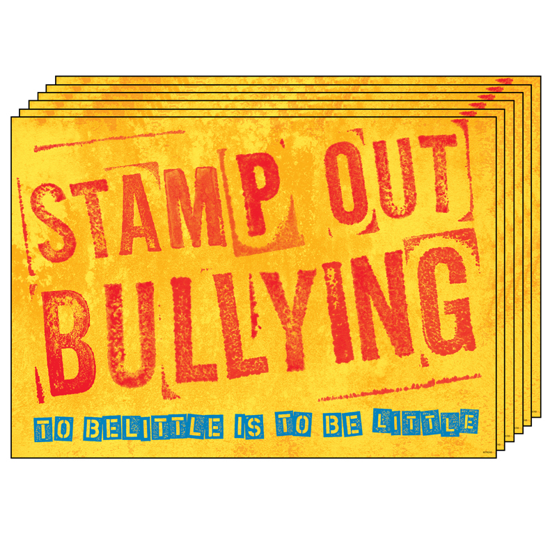 (6 Ea) Stamp Out Bullying Argusposter