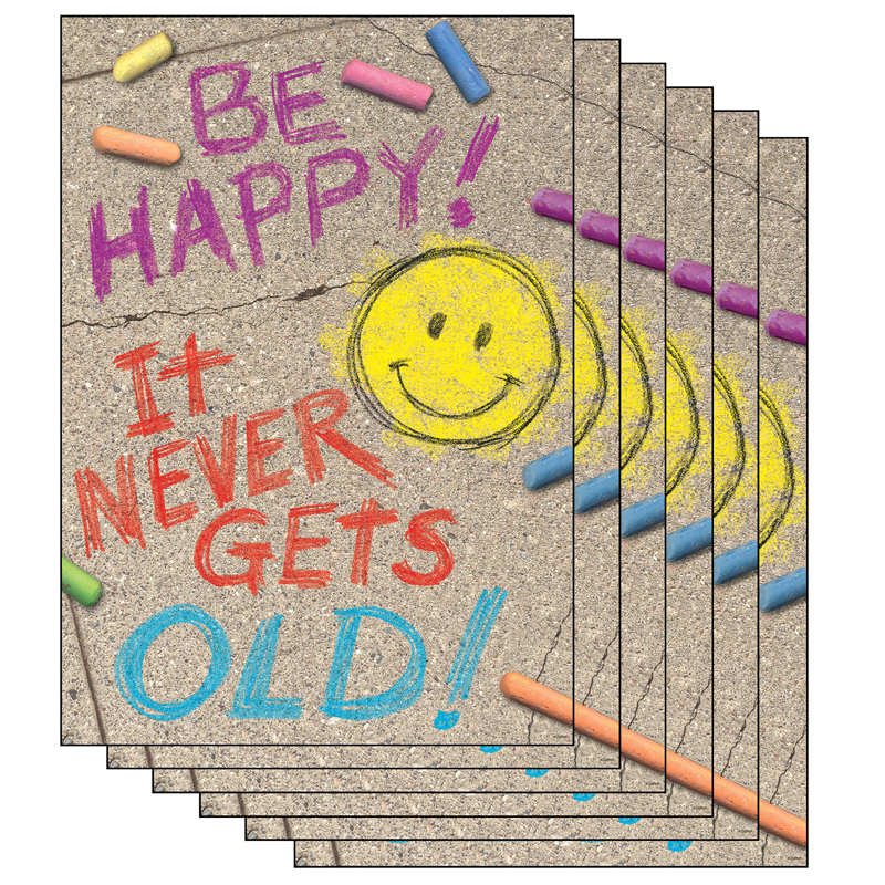 (6 Ea) Be Happy It Never Gets Oldposter