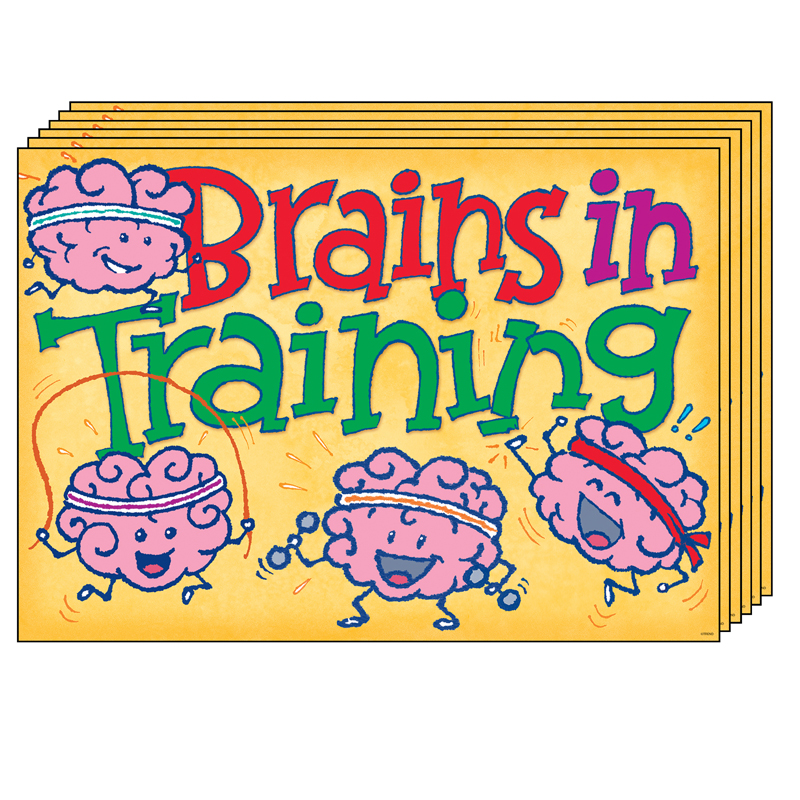 (6 Ea) Brains In Training Argusposter