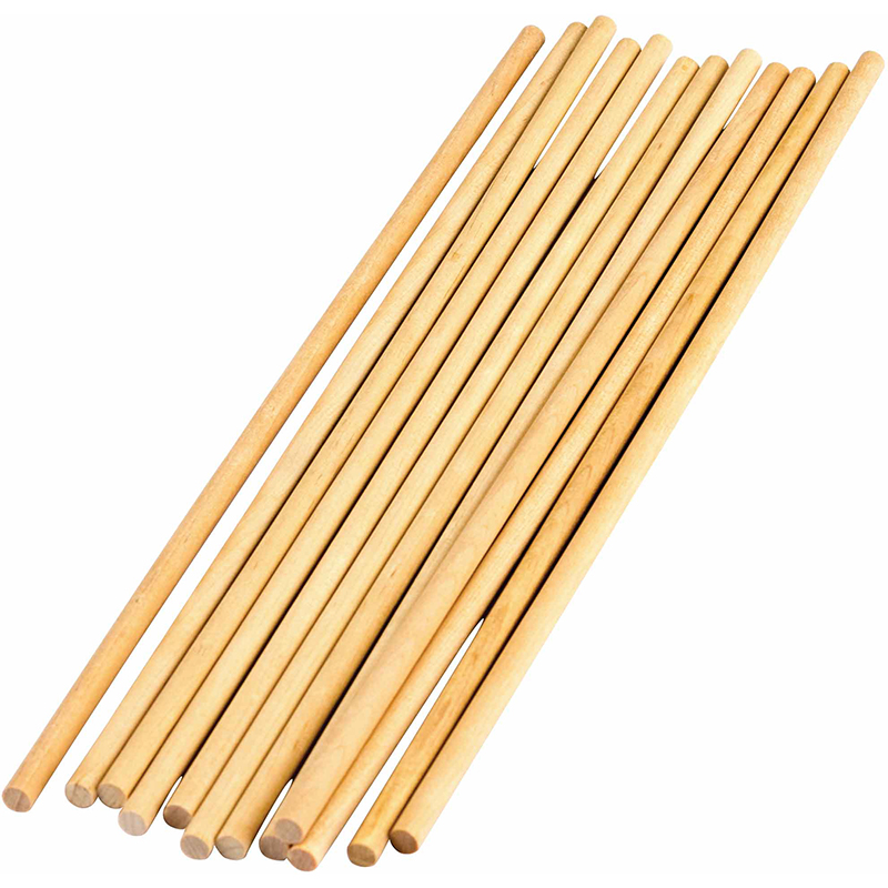 Stem Basics 1/4in Wood Dowels 12 Ct